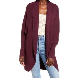 Nordstrom's Leith Dolman Sleeve Long Cardigan
